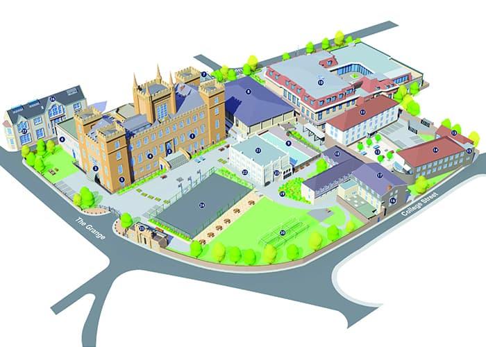 Upper School Map